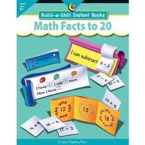 Build a Skill Instant Books Math Facts to 20 Toys & Games