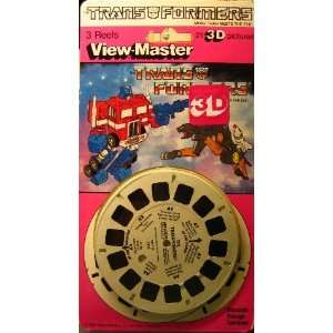 View Master   3 D Reels   Transformers Everything Else