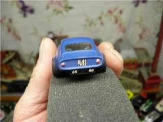 OLDER RARE BAUER FERRARI 250 LUSSO SKY BLUE SLOT CAR HO IOB