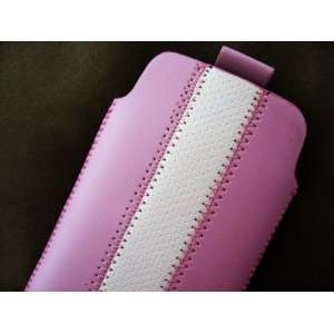 Leather Pouch Case Cover for Iphone 2g 3g 3gs & 4 Retro