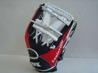 Louisville Slugger TPX 12 Fielder Baseball Glove Red Navy White USA