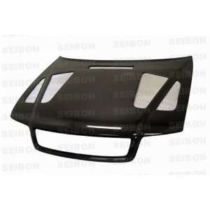 Seibon Carbon Fiber ER Style Hood Audi A4 96 01