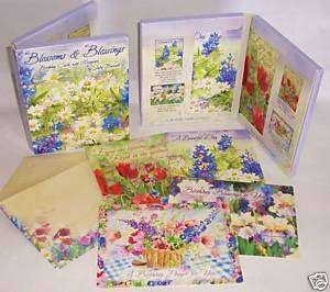 12 Birthday w/ Scripture Leanin Tree Cards Judy Buswell