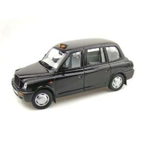 1998 TX1 London Taxi Cab 1/18 Black Toys & Games