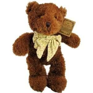 Russ Boo Crew Bears 12 Jointed Plush Teddy Bear Brown