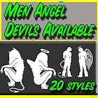ANGEL DEVIL CRAWLING VINYL DECAL STICKER SO CAL SKIN