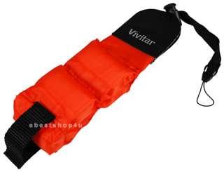 Waterproof Foam Digital Camera Floating Strap Red