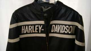 HARLEY DAVIDSON BORN TO RIDE LEATHER JACKET SIZE L