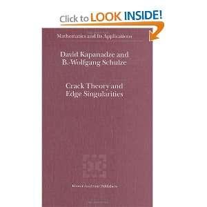 )) (9781402015243): D. V. Kapanadze, Bert Wolfgang Schulze: Books