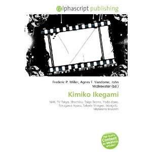 Kimiko Ikegami (9786134041645): Books