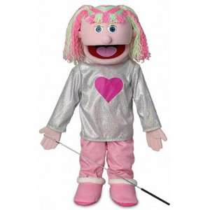 Kimmie Pink Kids Full Body Puppets Toys, 25 x 12 x 10 (in