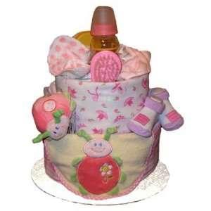 Tumbleweed Babies 1020202 Ladybug 2 Tier Diaper Cake Toys & Games