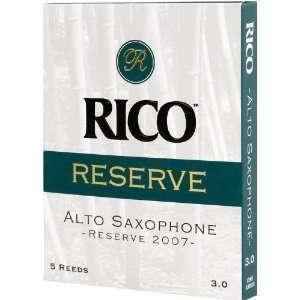 Rico Reserve Classic Alto Sax Reeds, Strength 2.5, 5 pack