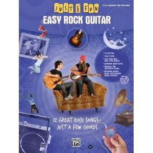 Alfred Just for Fun Easy Rock Guitar (Book) Musical
