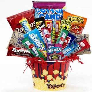 Junk Food Junky Snack Food Gift Basket   Chocolate and Candy Bouquet