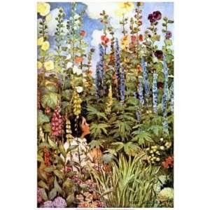 Flowers by Jessie Wilcox Smith 12x18
