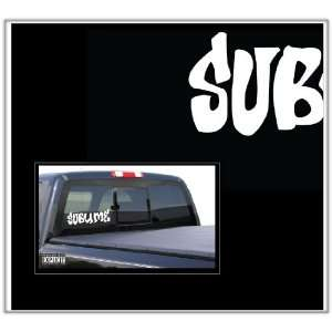 Sublime Large Vinyl Decal