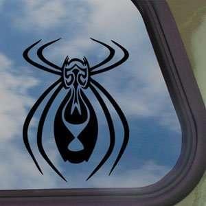 Tribal Spider Black Decal Car Truck Bumper Window Sticker