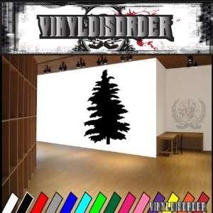 Trees Cedar Tree NS003 Vinyl Decal Wall Art Sticker Mural
