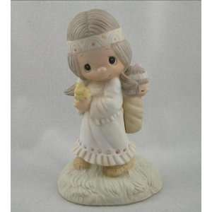 1978 His Burden Is Light Precious Moments Figurine: