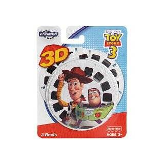 View Master 3D  Toy Story 3   3pc set Reel
