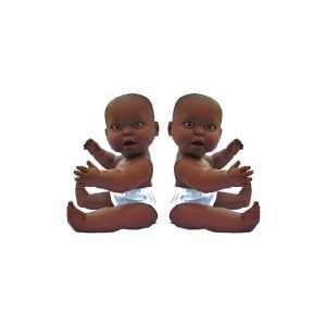 Large Vinyl Gender Neural African American Boy & Girl