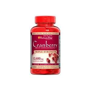 Triple Strength Cranberry Fruit Concentrate 12600 mg 200
