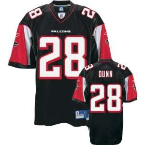 Warrick Dunn Black Reebok NFL Premier Atlanta Falcons
