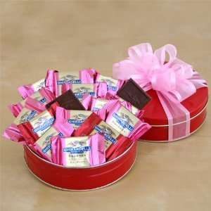 Chocolate Lovers Valentines Day Gift Tin  Grocery