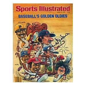 Phil Niekro & Lou Brock Autographed / Signed Sports Illustrated