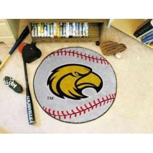 Southern Miss Mississippi Golden Eagles Baseball Shaped