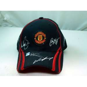 FC MANCHESTER UNITED OFFICIAL TEAM LOGO CAP / HAT   MU010