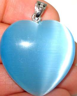 Latest collection Gorgeous Blue cats eye .925 SILVER Pendant 1.3