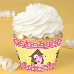 Girl Puppy Dog   Baby Shower Cupcake Wrappers Toys & Games