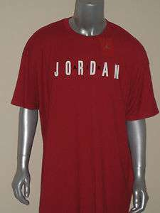 NWT NIKE AIR JORDAN JUMPMAN RED T SHIRT SIZE XXL