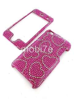 BLING SNAP ON HARD CASE APPLE iPOD TOUCH 4 4th GEN 4G