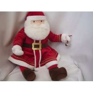 Polar Express Santa Plush Talking 20 Warner Bros Collectible