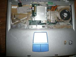 Dell Inspiron 1150 laptop base, 1.8ghz CPU and Cooler 817290274437