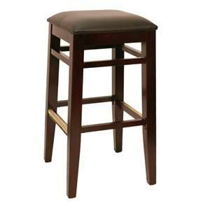 Factory Direct 7255H WABL Square Backless Four Bar Stool