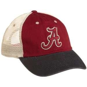 NCAA Mens Alabama Crimson Tide Wishbone Cap (Cardinal