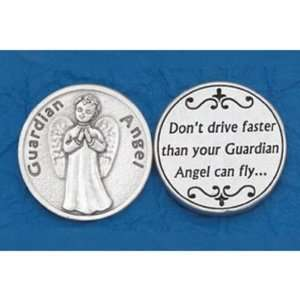 25 Guardian Angel Prayer Coins Jewelry