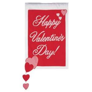 Happy Valentines Day Flag   Garden   Double Sided