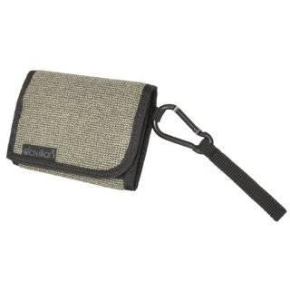 Civilian Lab Mens Tri Fold Leather Clip Wallet   Black