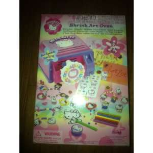 Hello Kitty Shrink Art Oven Toys & Games