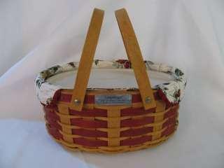Sweets & Treats Christmas Holiday Basket Set Combo 2007 New
