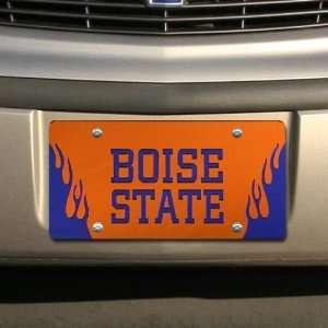 NCAA Boise State Broncos Orange Mirrored Flame License