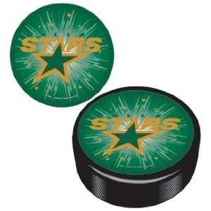 NHL Dallas Stars Logo Hockey Puck