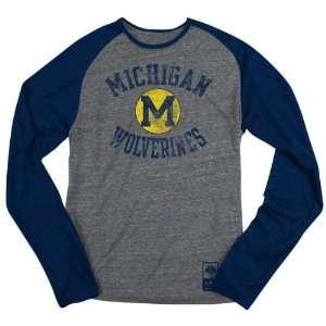 Michigan Wolverines Navy adidas Originals Gym Class Tri