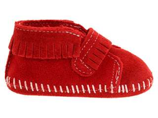Minnetonka Kids Front Strap Bootie (Infant/Toddler)