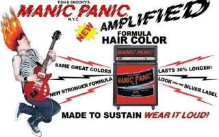 MANIC PANIC AFTER MIDNIGHT BLUE AMPLIFIED HAIR DYE COLOR DARK GOTH